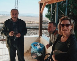 The research team was warmly greeted by station agents and local residents, and scanning sessions were often punctuated by invitations to relax and enjoy çay (Turkish black tea) and biscuits.