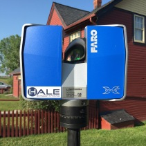 "FARO Focus3D X330, the ""Lidar"" camera used for Architectural Biometrics."